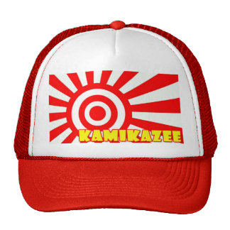kamikaze paintball trucker trucker hat