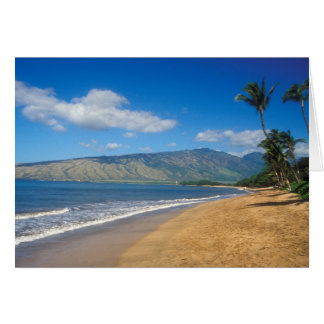 Kamole Beach Maui Hawaii Card