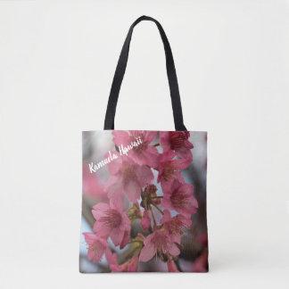 Kamuela Cherry Blossoms Tote Bag