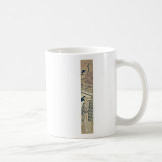 Kanadehon Chushingura by Isoda,Koryusai Classic White Coffee Mug