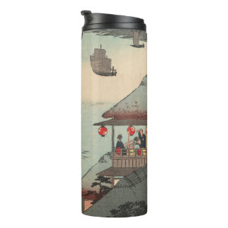 Kanagawa, Japan: Vintage Woodblock Print Thermal Tumbler