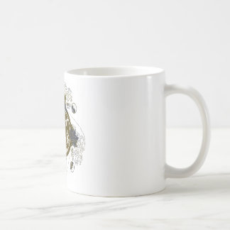 Kanagawa open sea 浪 reverse side coffee mug