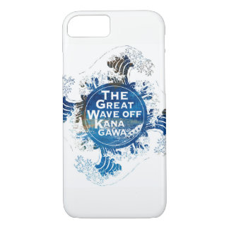 Kanagawa open sea 浪 reverse side iPhone 8/7 case