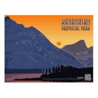 Kananaskis, Alberta. Canada Postcard