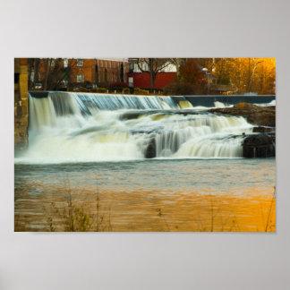Kanawha Falls, West Virginia Poster