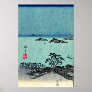 Kanazawa Full Moon 1857 Left Poster