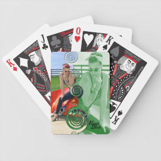 Kandi Blaze Rockabilly Bicycle Playing Cards