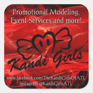 Kandi Girls Stickers