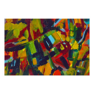 Kandinsky 304 Colorful Abstract Artwork Poster