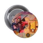 Kandinsky Abstract art 2 Inch Round Button
