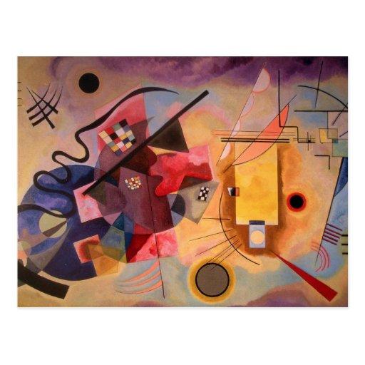 Kandinsky Abstract art Postcards