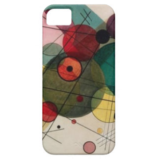 Kandinsky Abstract Circles iPhone 5/5S Case