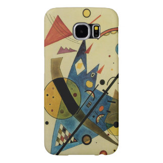 Kandinsky Abstract Circles Shapes Samsung Galaxy S6 Cases