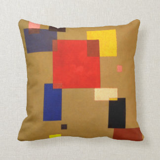 Kandinsky Abstract Thirteen Rectangles Throw Pillow