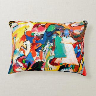 Kandinsky Angel of the Last Judgement Pillow