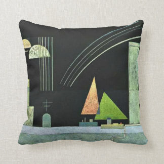 Kandinsky - At Rest Throw Pillow
