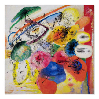Kandinsky Black Lines Poster