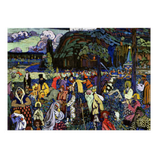 Kandinsky - Colorful Life Poster