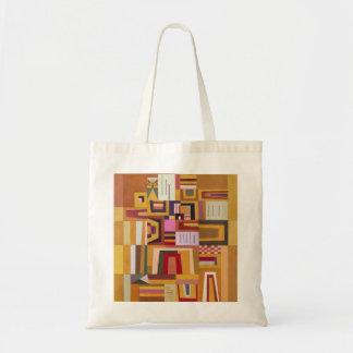 Kandinsky Compensation Rose Tote Bag