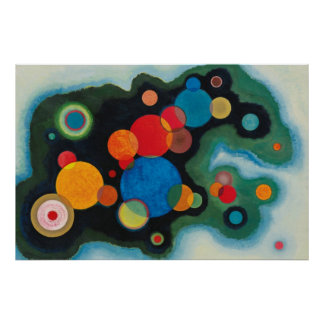 Kandinsky Composition Deeped Impulse Painting Art Poster