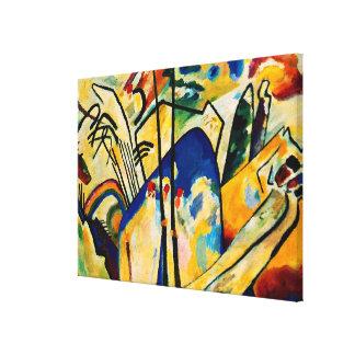 Kandinsky - Composition IV Canvas Print