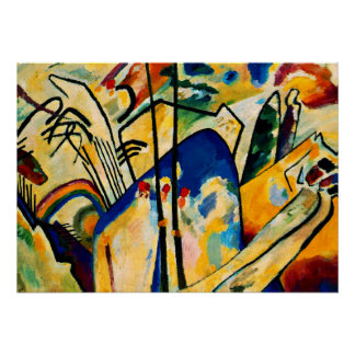 Kandinsky - Composition IV Poster