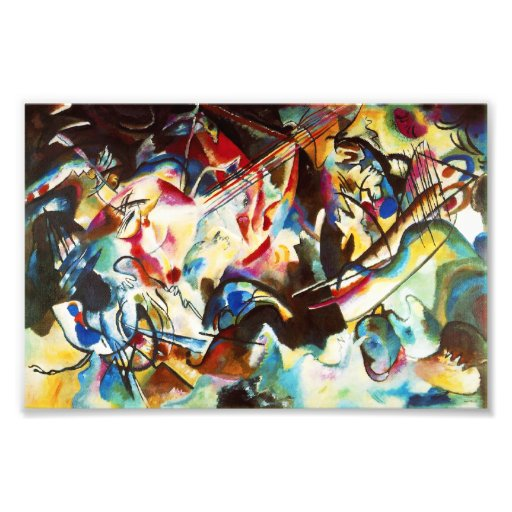 Kandinsky Composition VI Print Art Photo
