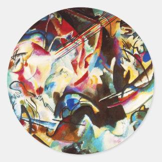 Kandinsky Composition VI Stickers