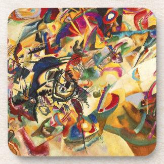 Kandinsky Composition VII Coasters