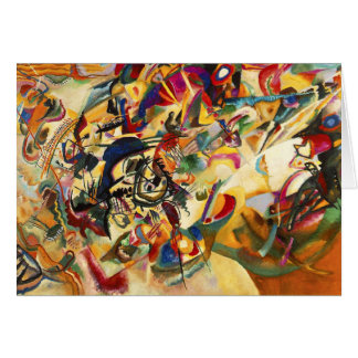 Kandinsky Composition VII Greeting Card