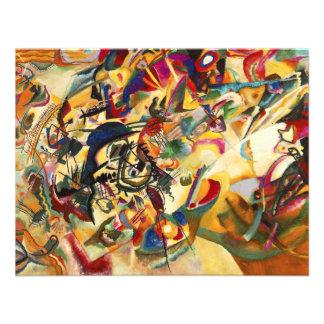 Kandinsky Composition VII Invitations