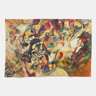 Kandinsky Composition VII Kitchen Towel