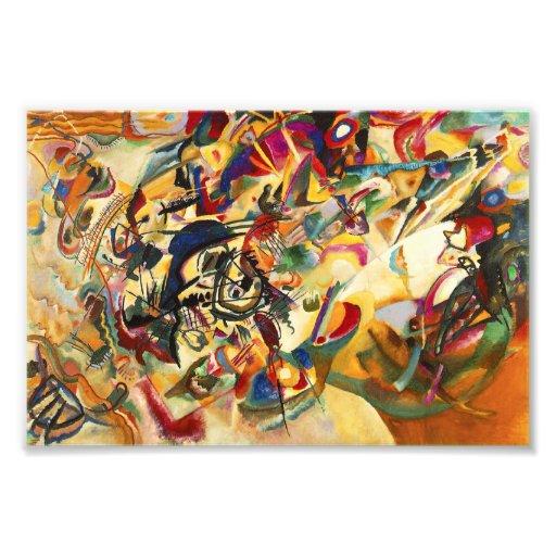 Kandinsky Composition VII Print Photographic Print