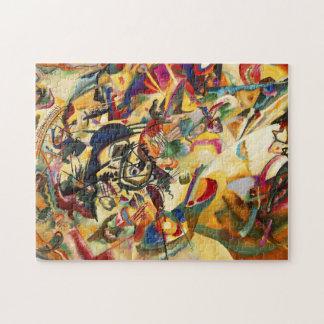 Kandinsky Composition VII Puzzle