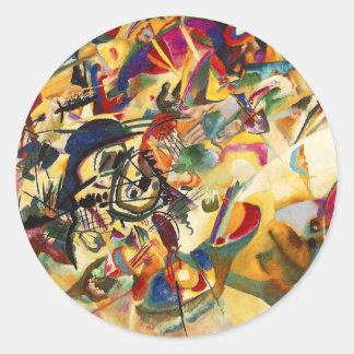 Kandinsky Composition VII Stickers