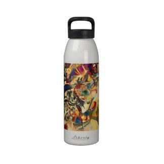 Kandinsky Composition VII Water Bottle