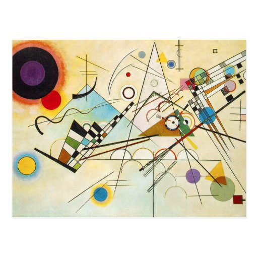 Kandinsky Composition VIII Postcard