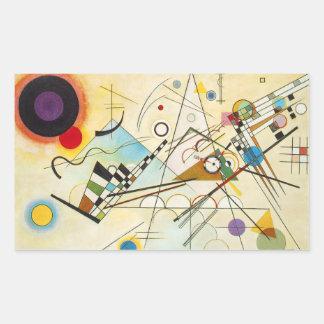 Kandinsky Composition VIII Stickers