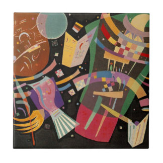 Kandinsky Composition X Abstract Artwork Tile