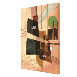 Kandinsky - Concentric Canvas Print