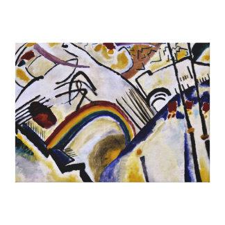 Kandinsky - Cossacks Canvas Print