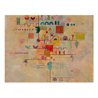 Kandinsky - Graceful Ascent Postcard