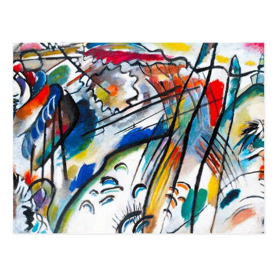 Kandinsky Improvisation 28 Postcard