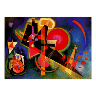 Kandinsky - In Blue Poster