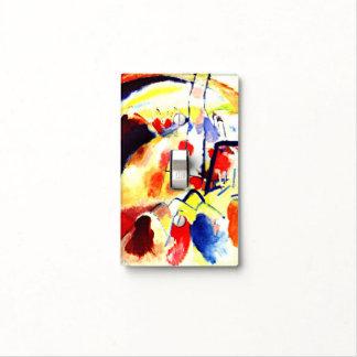 Kandinsky - Landscape with Red Spots Light Switch Cover