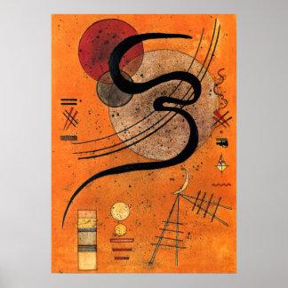 Kandinsky - Mood Line Poster