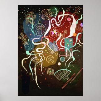 Kandinsky - Movement I Poster