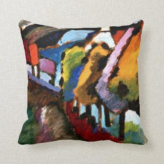 Kandinsky - Murnau, Castle and Church Throw Pillow
