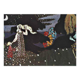 Kandinsky - Night Poster