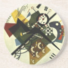 Kandinsky On White II Coaster
